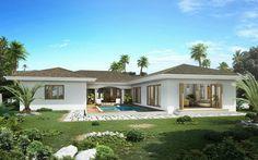 Nog te bouwen villa op villapark Zuurzak te koop - At Home Curacao