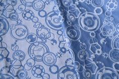 Yaro Slings Quantum Wrap full cotton doctor who inspired blue woven. Comes in different blends and colours