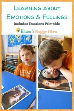 In this unit study, explore learning about emotions and feelings. Included are five activities and a printable that can be enjoyed with your child!