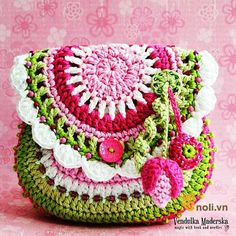Marvelous Crochet A Shell Stitch Purse Bag Ideas. Wonderful Crochet A Shell Stitch Purse Bag Ideas. Crochet Purse Patterns, Bag Crochet, Crochet Shell Stitch, Crochet Handbags, Crochet Purses, Love Crochet, Crochet Flowers, Flower Patterns, Pattern Flower