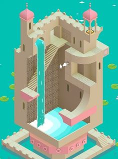 Monument Valley 2 is an illusory adventure of impossible architecture and forgiveness by ustwo games Isometric Art, Isometric Design, Isometric Shapes, Monument Valley App, Ustwo Games, Escher Drawings, Escher Art, Mc Escher, Valley Game