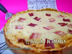 QUICHE RAPIDA DE BEICON Y QUESO http://eldesvandegalatea.blogspot.com.es/2013/11/quiche-rapida-de-beicon-y-queso.html
