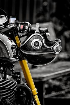 From Countryside to City - RocketGarage - Cafe Racer Magazine Cafe Bike, Cafe Racer Bikes, Cafe Racer Motorcycle, Motorcycle Style, Motorcycle Helmets, Cafe Racers, Retro Motorcycle, Rockabilly, Audi