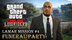 Grand Theft Auto V ONLINE (GAMEPLAY) حرامي سيارات  LAMAR MISSION  #4