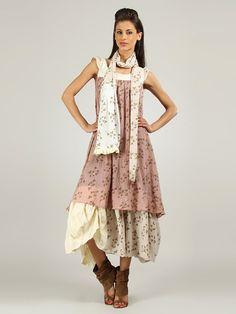 """Kleid """"Rosa"""" in Rosa/ Beige von Ian Mosh ab 71,49 € (24.05.2016) statt 190,00 € (UVP) im limango Outlet kaufen. Schneller Versand & große Auswahl!"""