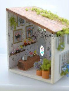 Minhas Minis - My Minis: 1:144 Floricultura - Flower Shop