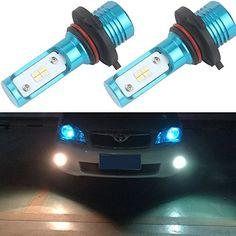 Senzeal New Arrivals LED Fog Light Bulb High Performance Chip Daytime Running Lights Driving Lamps White