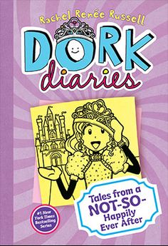 Dork Diaries 8 Tales from a Not So Happily Ever After by Rachel Renée Russell Dork Diaries Series, Dork Diaries Books, New Children's Books, Good Books, Middle School Drama, Online Shopping, Diary Book, Classic Fairy Tales, Wimpy Kid