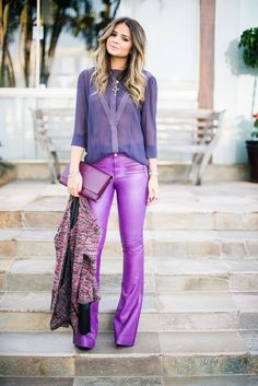 Gli Arcani Supremi (Vox clamantis in deserto - Gothian): The Women's Fashion Revolution of 2019 Lila Outfits, Purple Outfits, Boho Outfits, Casual Outfits, Fashion Outfits, Womens Fashion, Fashion Trends, Paris Chic, Colorful Outfits