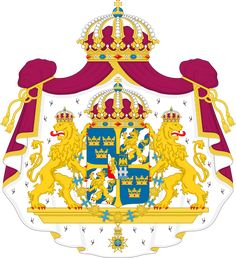Great coat of arms of Sweden - Wappen Schwedens – Wikipedia