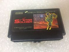 Star Soldier Famicom Japan NTSC-J Family Computer Nintendo