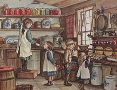 Tasha Tudor Illustration