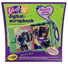 Girlfitti Digital Scrapbook, 2005 Parents' Choice Award FunStuff Award - Toys #Toy