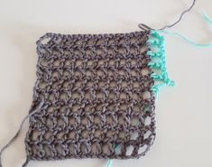 Plaid summer sweater square 1 Crochet Poncho, Crochet Top, Summer Sweaters, Free Pattern, Crochet Patterns, Plaid, Women, Fashion, Shawl