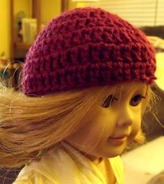 .: American Girl Beanie.....haven't tried it yet