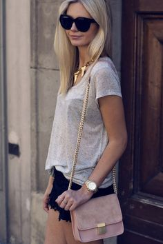 Simple and Cute Outfit Ideas : People will stare. Make it worth their while.