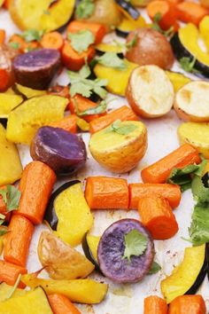 Roasted Winter Vegetables Recipe