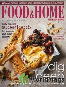 Food & Home Entertaining - July 2016