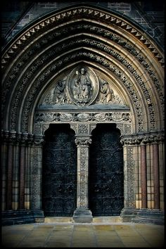Entrance to St Mary's Cathedral, Edinburgh,Scotland  by John Stokes on 500px