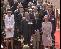 Princess Diana, Prince Philip, Prince William, Queen Elizabeth II and Prince Charles