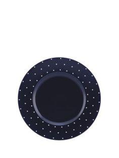 larabee dot dinner plate - Kate Spade New York