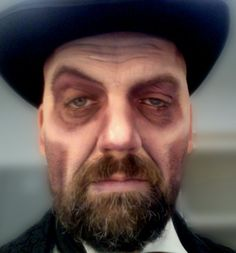 Robert Smythe in Sweeney Todd..... or a blueprint for Fossors makeup, whichever.