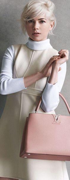 e812c1b5e6 Michelle Williams Louis Vuitton ad