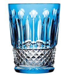 Saint Louis Tommy Shot Sky Blue Barware Tableware Crystal Harlequin London