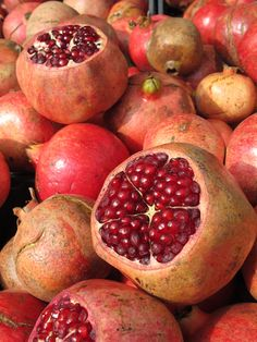 Beautiful pomegranates!