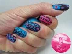 Matte Dotty Nails - Ma Nails