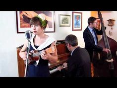 """Sarah King and the Smoke Rings (Jazz, Swing, a Ukulele and a Good Time) perform """"Till There Was You"""" - More info: http://www.njwedding.com/vendorDisplay.cfm?vendorid=9693"""