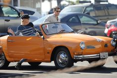 Cars of yore are still fantastic today, Diane Kruger and Joshua Jackson up this sweet ride's cool factor even more