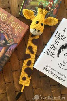 April's Baby: Giraffe Bookmark Amigurumi Free Crochet Pattern