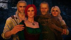 I'm a big fan of Witcher games and books. My favorite character is Triss Merigold, but I'm a sucker for sorceresses. Triss Merigold Witcher 3, Witcher 3 Geralt, Witcher Art, Ciri, The Witcher Wild Hunt, The Witcher Game, The Witcher Books, Mass Effect Universe, Hail Storm