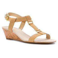 Lauren Ralph Lauren Women's Liani Wedge Sandal *** Review more details here - Wedge sandals