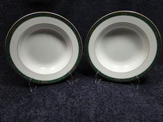 "Wedgwood Fairfield Soup Bowl Embassy Collection 9 1/4""   TWO EXCELLENT! #Wedgwood"