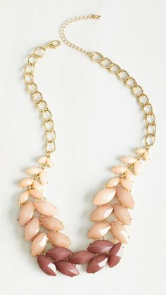 Berry Good Harvest Necklace in Blush