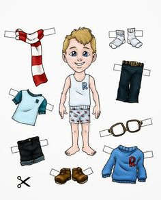 1 million+ Stunning Free Images to Use Anywhere Paper Dolls Clothing, Barbie Paper Dolls, Vintage Paper Dolls, Doll Clothes, English Activities, Activities For Kids, Flashcards For Toddlers, Body Preschool, American Girl Doll Shoes