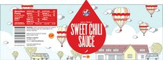 Kitchen Joy Sauces (Concept) on Packaging of the World - Creative Package Design Gallery