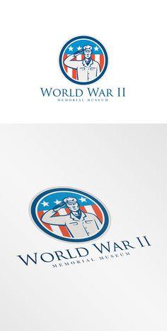 World War II Memorial Logo by patrimonio on Creative Market