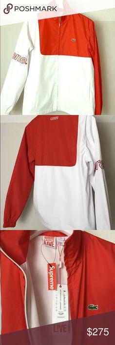Supreme X Lacoste SS17 Collection Medium Supreme Lacoste jacket Supreme Jackets & Coats Lightweight & Shirt Jackets