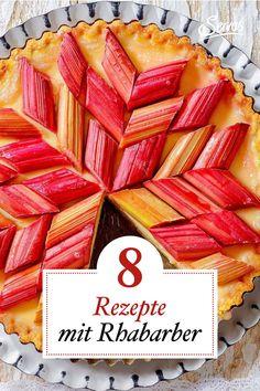 Das Frühlingsgemüse wartet schon sehnsüchtig auf den Einsatz in der Küche. Rhabarber in Hülle und Fülle. #rhabarber #rhabarberrezepte #rezepte #servusrezept Rhubarb Recipes