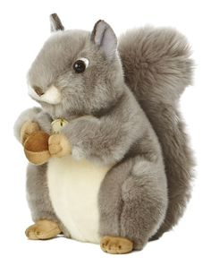 Aurora World Miyoni Grey Squirrel Plush Measures long Realistic styling, made with superior materials and impeccable attention to detail Silky plush and soft huggable bodies Jungle Animals, Plush Animals, Animals For Kids, Wild Animals, Pet Toys, Baby Toys, Young Animal, Chipmunks, Aurora