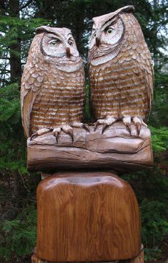 Wood Carvings by Barry Benecke