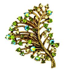 Pugster 22k Golden Plated Olive Czech Stone Stude Leaf With Peridot Green Swarovski Crystal Diamond Accent Brooches And Pins For Holiday Gifts Pugster,http://www.amazon.com/dp/B002WCIDDK/ref=cm_sw_r_pi_dp_pAoMsb11914ANTAD