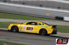 There is a $3,000 bounty available for the first newcomer in a late-model Mustang or Challenger, who can beat Ken Thwaits' 2014 Chevrolet Camaro in the GT Class of #DriveOPTIMA
