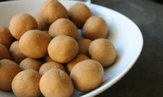 3 Ingredient Peanut Butter Balls with Coconut Flour (Vegan, Gluten-Free) | Further Food