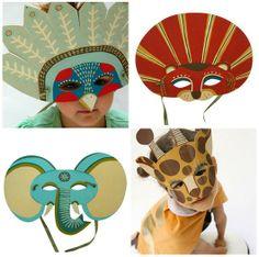 Kids' masks.