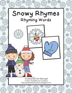 Snowy Rhymes Game  $2.00