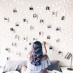 49 Easy and Cute Teen Room Decor Ideas for Girl - wohnideen wohnzimmer - Dorm Room Dream Rooms, Dream Bedroom, Girls Bedroom, Bedroom Wall, Diy Bedroom, Dream Teen Bedrooms, Fantasy Bedroom, Bedroom Crafts, Bedroom Themes
